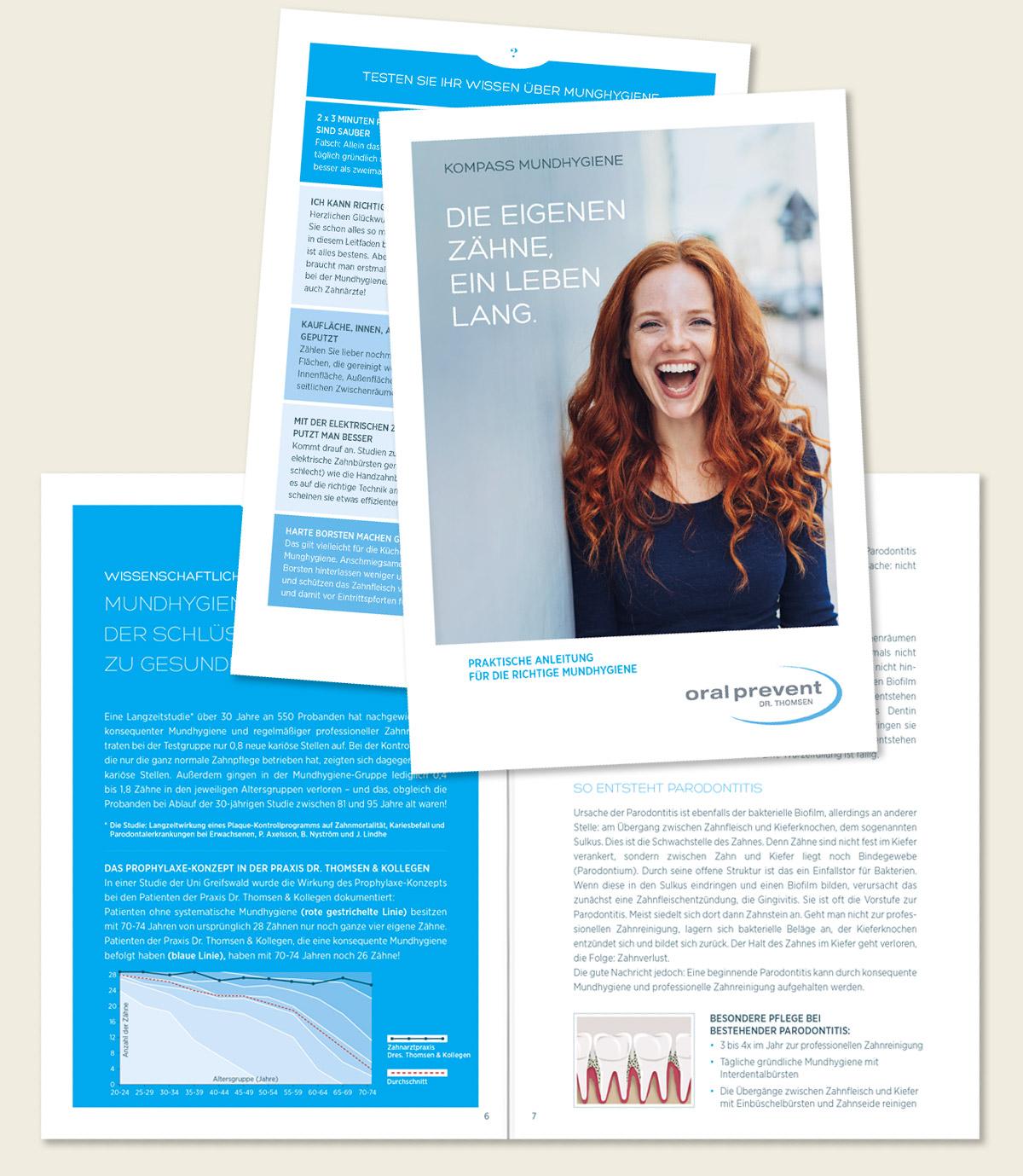 Oral Prevent 16-seitiges Booklet